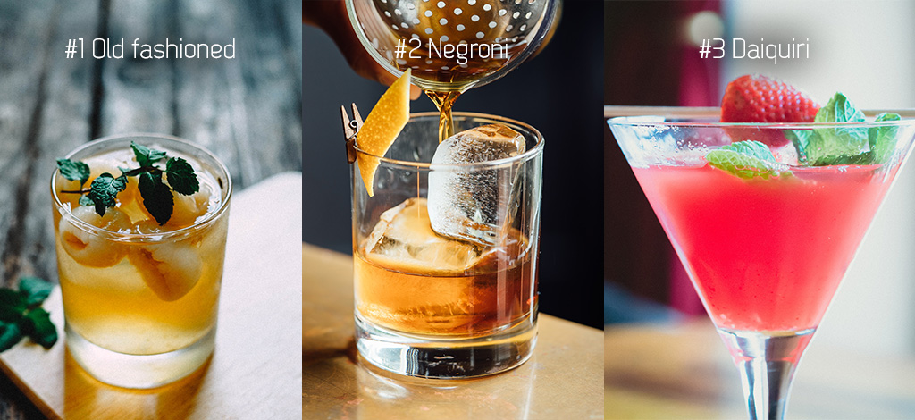 De top 3 beste cocktails 2017