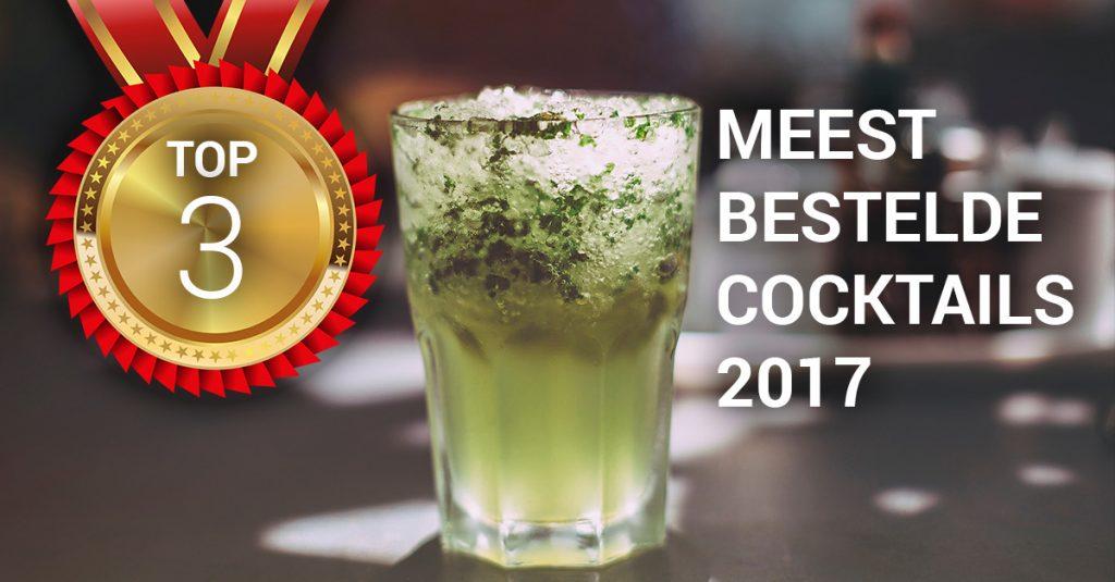top 3 meest bestelde cocktails 2017