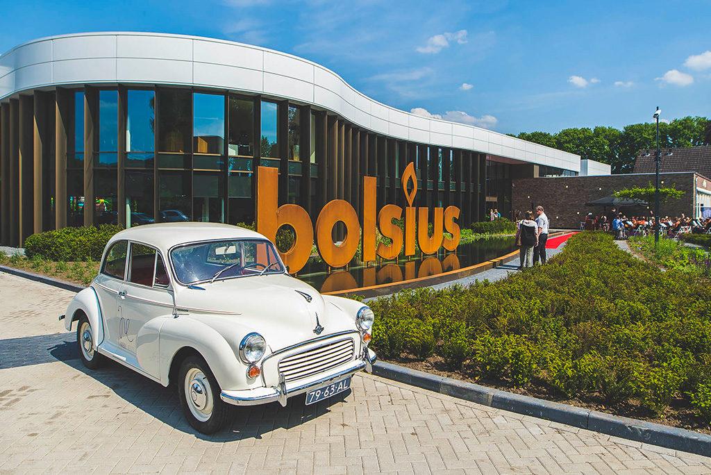 Bedrijfsfeest opening nieuw bedrijfspand Bolsius